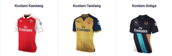 Arsenal kostum