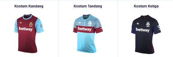 West Ham United kostum