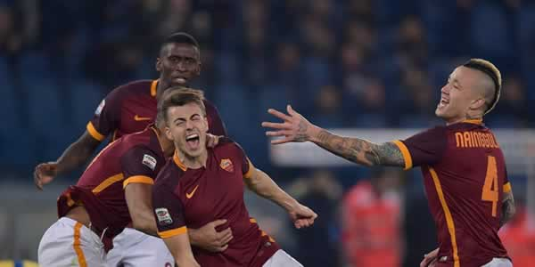 Video, Gol Indah El Shaarawy di Laga Debut Bersama AS Roma