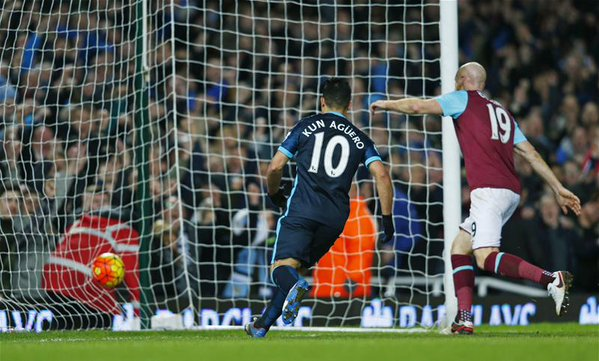 Hasil EPL : West Ham vs Man City 2-2, Hasil Adil Kedua Tim