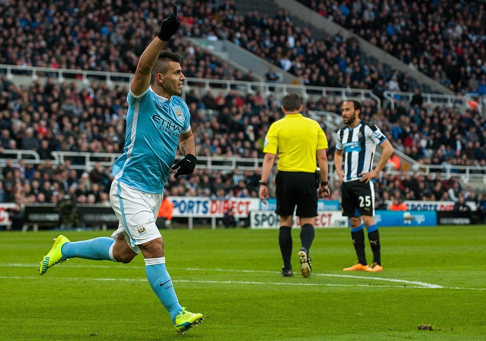 Newcastle United Tahan Imbang Manchester City 1-1