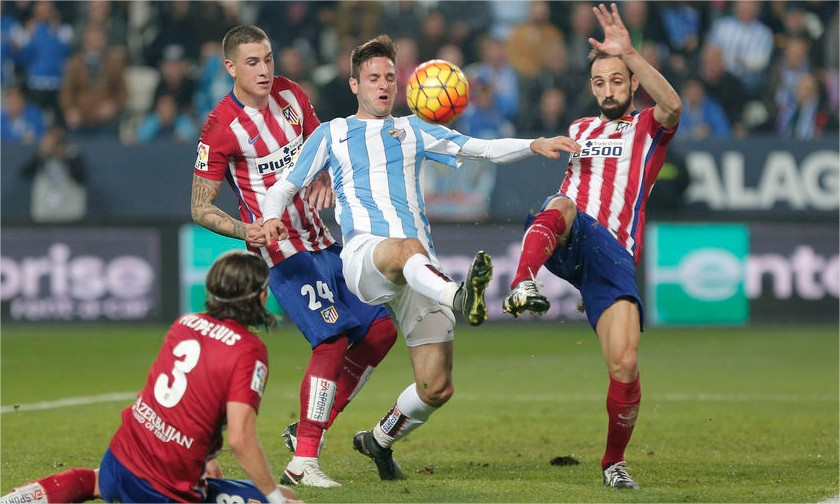 Prediksi Bola Atletico Madrid vs Malaga Liga Spanyol 23 April 2016
