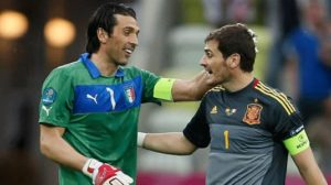 Casillas Berniat Adakan Laga Kontra Buffon CS