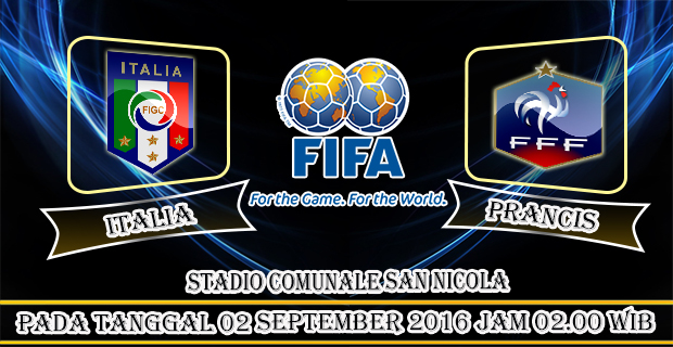 Berita Bola : Prediksi Italia vs Prancis, International Friendlies