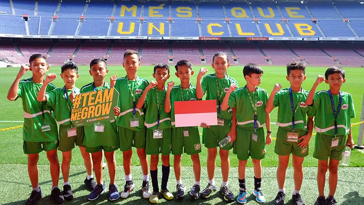Perjuangan 10 Bocah Indonesia Jadi The Next Messi di Barcelona