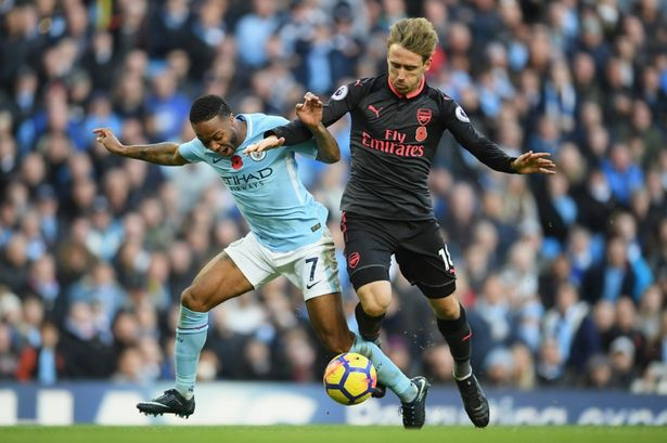Wenger Sindir Aksi Diving Sterling Saat Melawan Arsenal