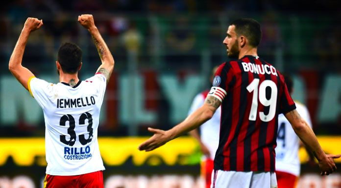 Hasil Serie A 22 April 2018 : Milan vs Benevento 0-1