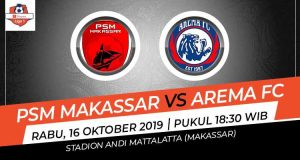 Link Streaming PSM vs Arema, Liga 1 2019 Malam Ini