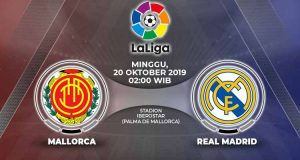 Prediksi Real Mallorca vs Real Madrid, La Liga 20 Oktober 2019