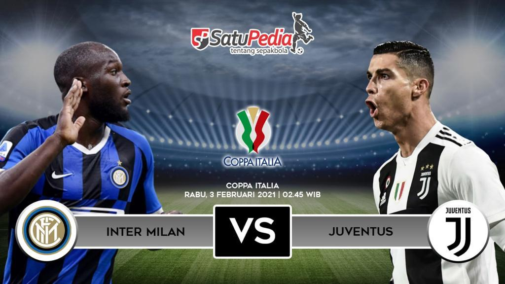 Link Live Streaming Inter vs Juventus, 3 Februari 2021 ...